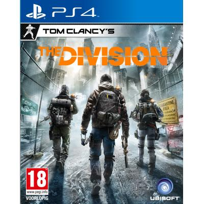 Ubisoft game: Tom Clancy's, The Division  PS4