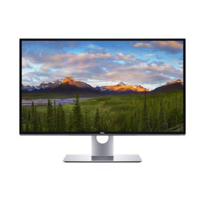 "DELL UltraSharp UP3218K 32"" 8K UHD IPS PremierColor Monitor - Zwart, Zilver"