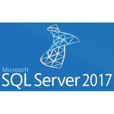 Microsoft software: SQL Server 2017