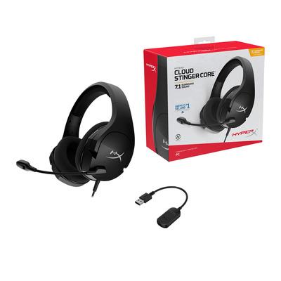 HyperX HHSS1C-AA-BK/G Headset - Zwart