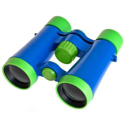 Bresser optics verrrekijker: Junior 4x30 - Zwart, Blauw, Groen