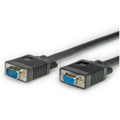 ROLINE 2m VGA VGA kabel  - Zwart