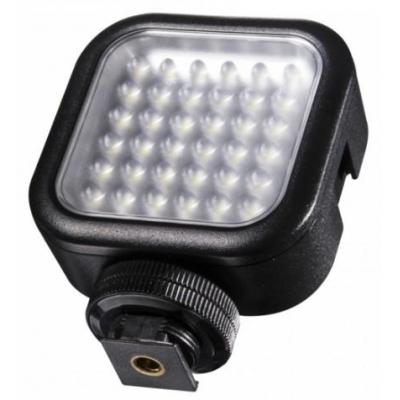 Walimex : LED Video Light with 36 LEDs - Zwart
