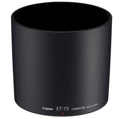 Canon lenskap: Lens Hood ET-73 - Zwart