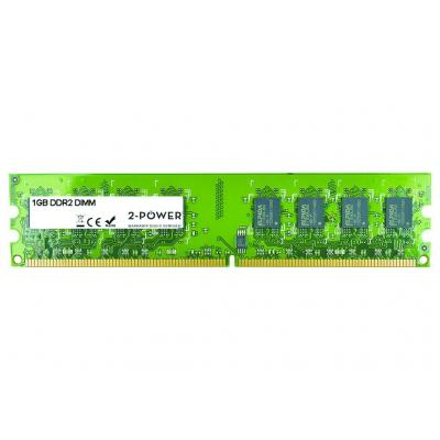 2-power RAM-geheugen: 1GB DDR2 800MHz DIMM Memory - replaces 91.AD346.021