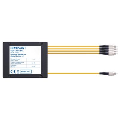 Spaun 815037 Kabel splitter of combiner - Zwart