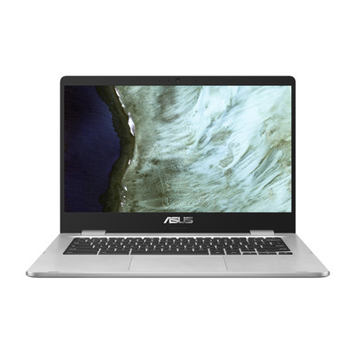 ASUS Chromebook C423NA-BZ0529 - QWERTY Laptop - Zilver
