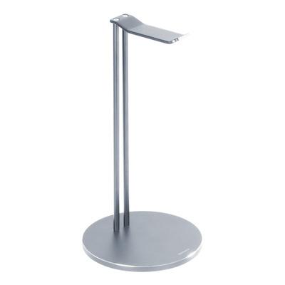 Deltaco Universal Headphone Stand, Aluminum Non-Slip, Silver Koptelefoon accessoire - Zilver