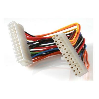 Startech.com electriciteitssnoer: 20cm 24 Pin ATX 2.01 voeding verlengkabel - Multi kleuren