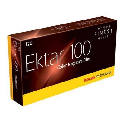 Kodak kleurenfilm: 1x5 Professional Ektar 100 120