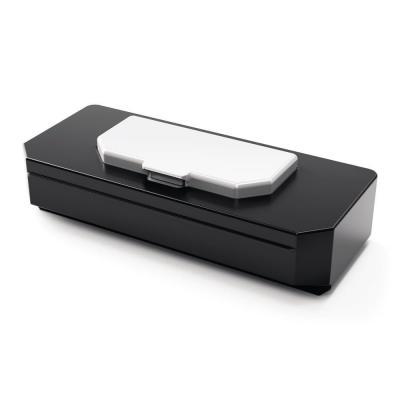 Nobo board accessorie: Prestige Box voor Drooguitwisbare Doekjes - Zwart