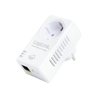 LogiLink PL0014 Powerline adapter - Wit