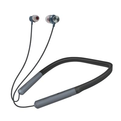 LogiLink 20–20000 Hz, 130 mAh lithium-polymer, 10m, Bluetooth V4.2+EDR Headset - Zwart,Grijs