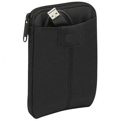 Case logic apparatuurtas: Portable Hard Drive Tas - Zwart