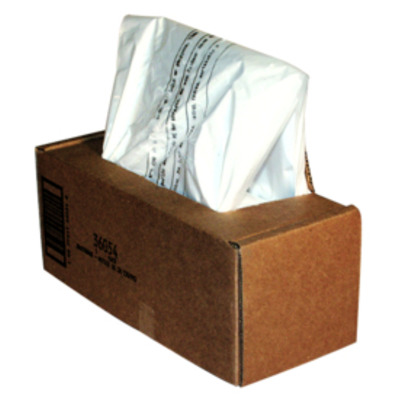 Fellowes Papiervernietiger opvangzakken 53-75 liter Papier-shredder accesoire - Transparant