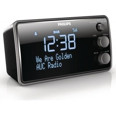 Philips radio: Klokradio AJB3552/12 - Zwart