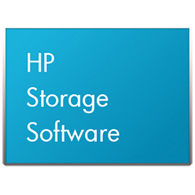 Hewlett packard enterprise virtualization software: 3PAR StoreServ Application Suite for VMware E-Media