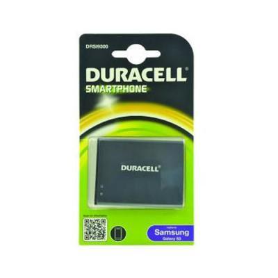 Duracell batterij: Smartphone Battery 3.7v 2100mAh 7.8Wh, Samsung Galaxy S3 - Zwart