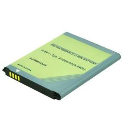 2-Power 3.8V 2100mAh Mobile phone spare part - Zwart, Blauw, Groen