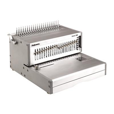 Fellowes inbindmachine: Orion-E 500 elektrische inbindmachine voor plastic bindruggen - Zilver