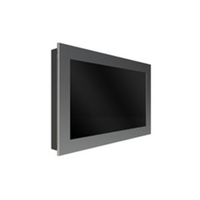 """Peerless In-Wall Kiosk Enclosure, 42"""", 34kg, Black TV standaard - Zwart"""