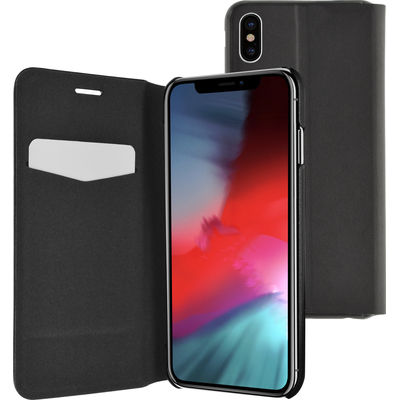 Azuri AZBOOKUT2IPHXSMAXBLK Mobile phone case - Zwart