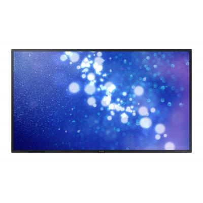 "Samsung public display: FHD Large Format Display 65"" DM65E - Zwart"