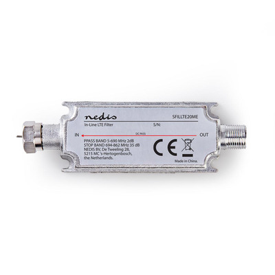 Nedis SFILLTE20ME Electrische filter