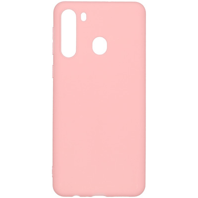 Color Backcover Samsung Galaxy A21 - Roze - Roze / Pink Mobile phone case