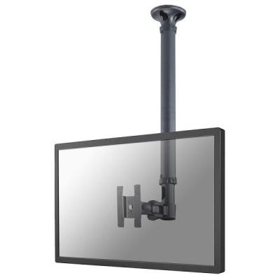 """Newstar flat panel plafond steun: De FPMA-C100 is een plafondsteun voor flat screens t/m 30"""" (76 cm). - Zwart"""