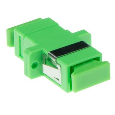 ACT Fiber optic SC-APC simplex adapter single-mode Fiber optic adapter - Groen