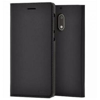 Nokia mobile phone case: Slim Flip Cover CP-301 - Zwart