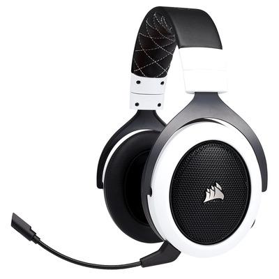 Corsair HS70 Headset - Zwart, Wit