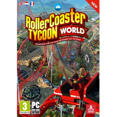 Mindscape game: RollerCoaster Tycoon World  PC