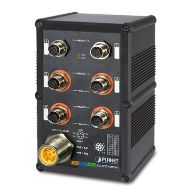Planet IGS-5227-4MP2MT Switch - Zwart