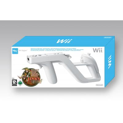 Nintendo game controller: Links Crossbow Training + Zapper  Wii