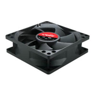 Spire Case Fan / Power supply fan 80x80x25mm 12V DC Fan 3 + 4pin Sleeve bearing 2000RPM Low Speed Hardware koeling .....