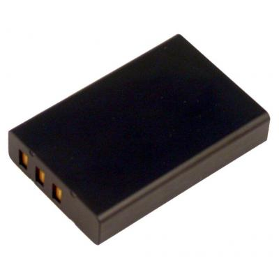 2-power batterij: Digital Camera Battery, Li-Ion, Black - Zwart