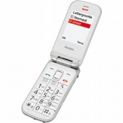 Tiptel Ergophone 6021 mobiele telefoon - Wit