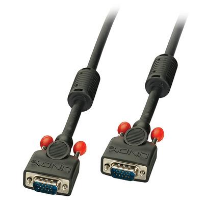 Lindy VGA - VGA, M/M, 40 m VGA kabel  - Zwart