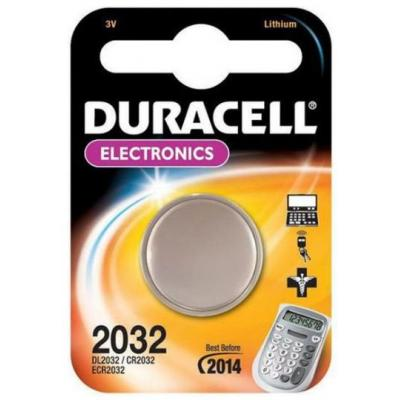 Duracell batterij: CR2032 - Zilver