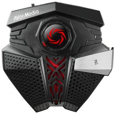 Avermedia microfoon: GM310 - Zwart, Rood