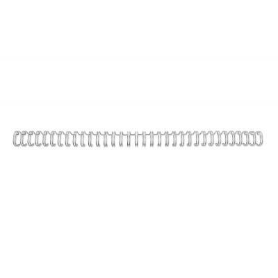 Gbc inbinder: 3:1 WIRE NO5 A4 SILV (250) - Zilver