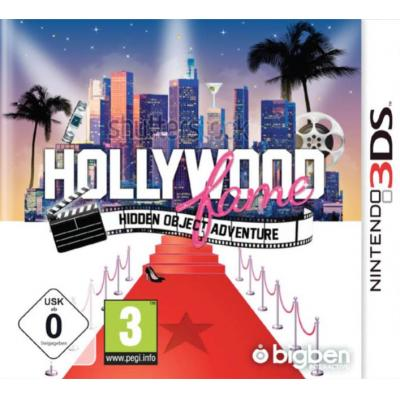 Bigben interactive game: Hollywood Fame, Hidden Object Adventures  3DS