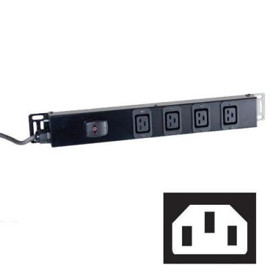 Black Box Standard C19 Power Strips Energiedistributie - Zwart