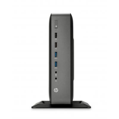 Hp thin client: t620 PLUS flexibele thin client - Zwart (Renew)