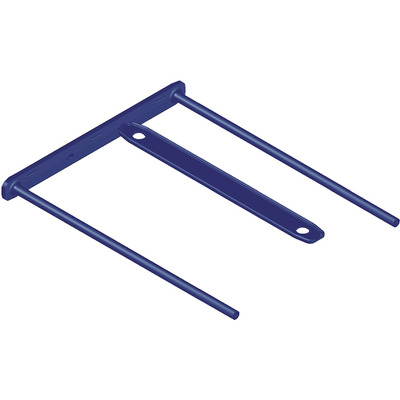 Fellowes BBD-Clip Blue Paperclip - Blauw