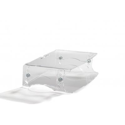 BakkerElkhuizen Q-riser 130 Monitorarm - Transparant