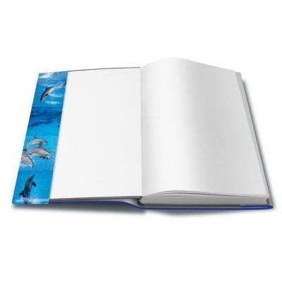 Herma tijdschrift/boek kaft: 20260 - Blauw