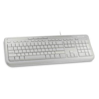 Microsoft Wired Keyboard 600 - Alphanumeric Toetsenbord - Wit